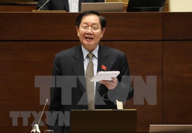 Prosigue Parlamento vietnamita debates sobre proyectos legales hinh anh 1