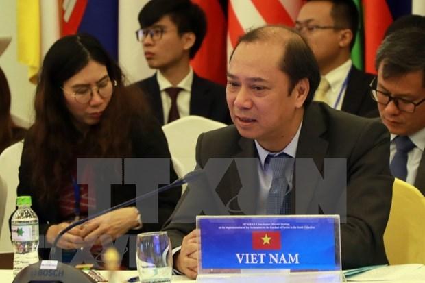 Llama Vietnam a unir esfuerzos para mantener la paz y estabilidad en la ASEAN hinh anh 1