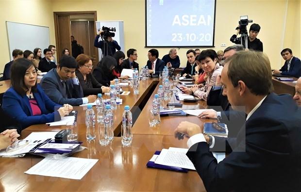 Resaltan papel de Vietnam en cooperacion entre Rusia y ASEAN hinh anh 1