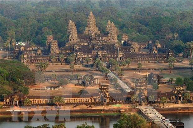 Disminuye en Camboya numero de turistas internacionales al templo de Angkor Wat hinh anh 1