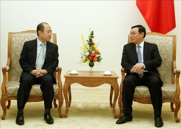 Fortalecen Vietnam y Corea del Sur lazos en economia y ciencia- tecnologia hinh anh 1