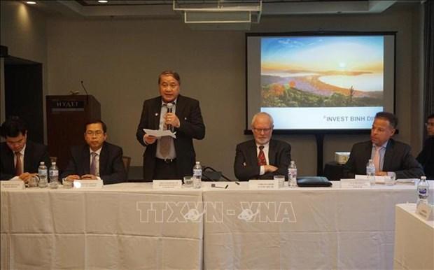 Provincia vietnamita de Binh Dinh invita a la inversion estadounidense hinh anh 1