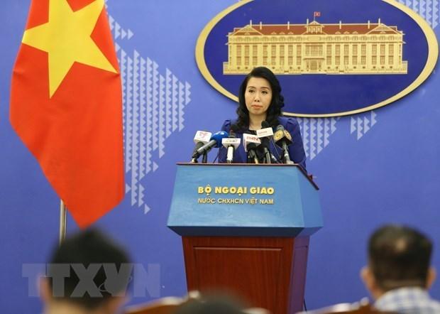Vietnam aboga por medidas efectivas para garantizar la seguridad de sus ciudadanos en Hong Kong hinh anh 1