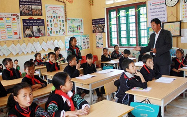 Mejora calidad de la educacion para ninos en areas de minorias etnicas hinh anh 1