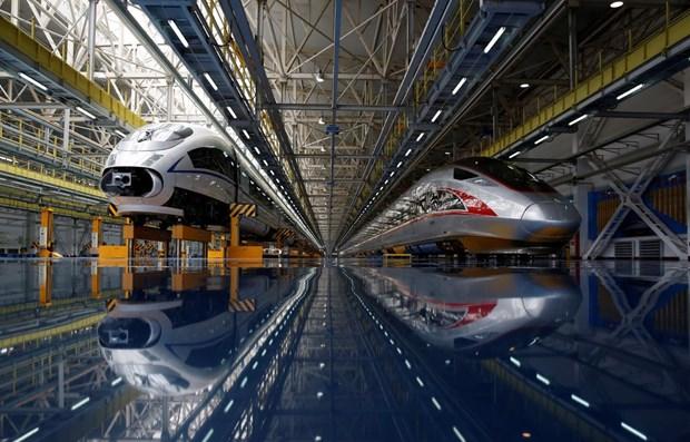 Construiran en Tailandia ferrocarril de alta velocidad por un valor de 7,4 mil millones de dolares hinh anh 1