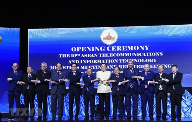 Concluye XIX Reunion Ministerial de Informacion y Telecomunicaciones de la ASEAN hinh anh 1