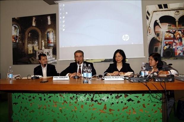Empresas italianas muestran interes en mercado vietnamita hinh anh 1