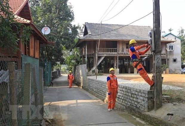 Vietnam se situa en cuarto lugar en la ASEAN en indice de acceso a electricidad hinh anh 1