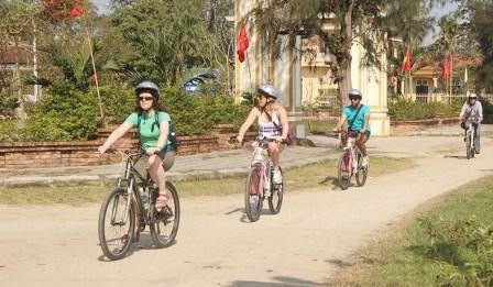 Ciudad vietnamita planea lanzar turismo en bicicleta hinh anh 1