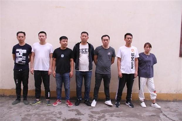 Entregan a China siete individuos detenidos por organizar apuestas en linea hinh anh 1