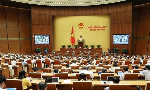Parlamento de Vietnam examinara cumplimiento del plan socioeconomico de 2019 hinh anh 1