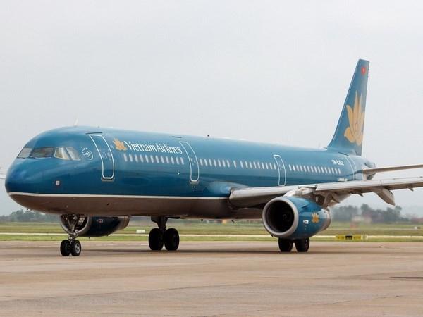 Inaugura Vietnam Airlines ruta a polo turistico de Indonesia hinh anh 1