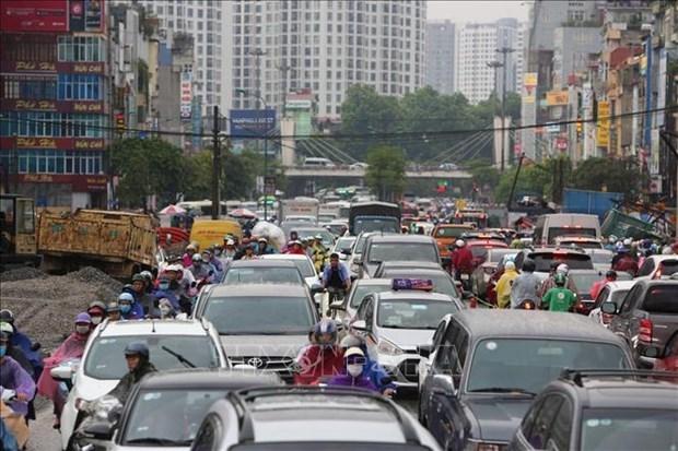 Celebran en Vietnam Foro Intergubernamental de Transporte Ambientalmente Sostenible en Asia hinh anh 1