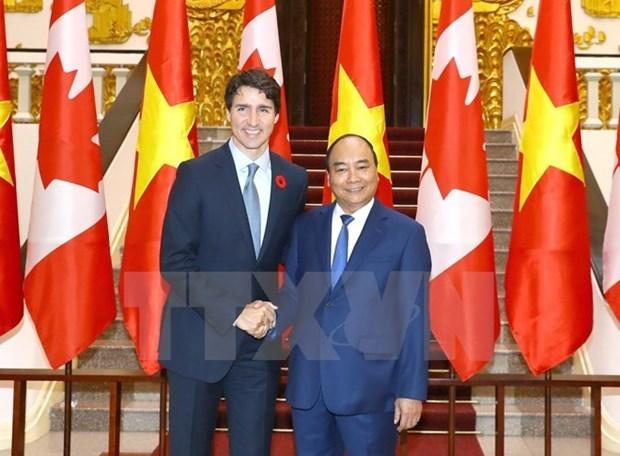 Felicita Vietnam al Partido Liberal de Canada por su victoria en elecciones generales hinh anh 1