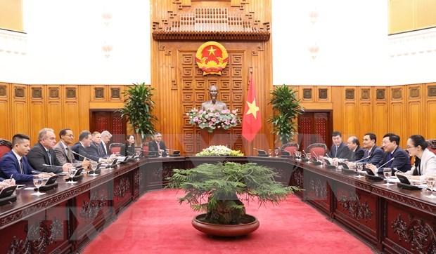Proponen mayor inversion estadounidense en negocios emergentes de Vietnam hinh anh 1