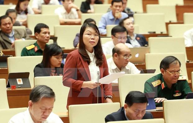 Analizara Parlamento de Vietnam borradores de leyes de milicia y migracion hinh anh 1