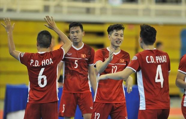 Alcanza Vietnam medalla de bronce en campeonato regional de futbol sala hinh anh 1