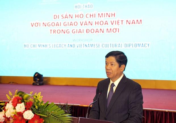 Analizan el legado de Ho Chi Minh en la diplomacia cultural de Vietnam hinh anh 1