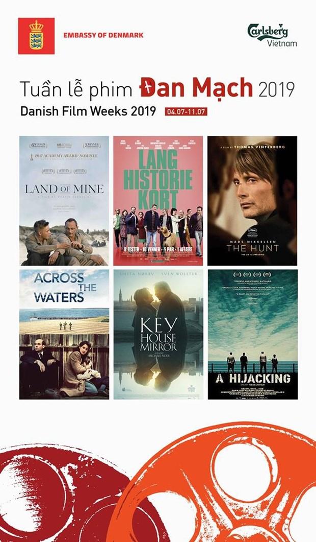 Reparten en Vietnam entradas gratuitas para la Semana de Cine de Dinamarca hinh anh 1