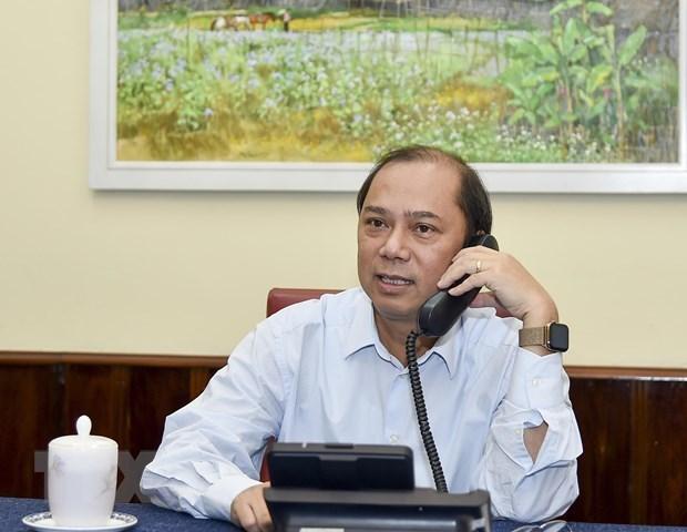 Estrechan Vietnam y Reino Unido cooperacion en identificacion de victimas de tragedia en contenedor hinh anh 1