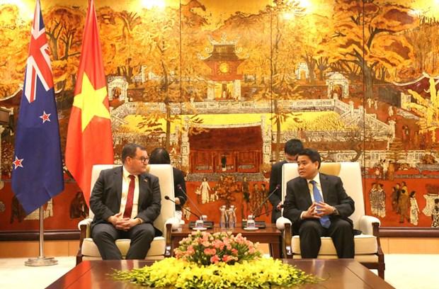 Promueven Hanoi y Nueva Zelanda cooperacion en educacion hinh anh 1