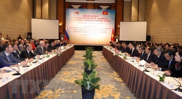 Acuerdan Vietnam y Rusia medidas para impulsar lazos bilaterales hinh anh 1