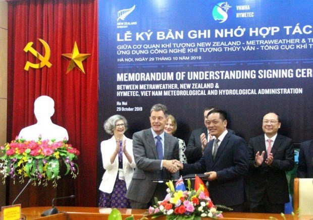 Proyectan Vietnam y Nueva Zelanda ampliar cooperacion hidrometeorologica hinh anh 1