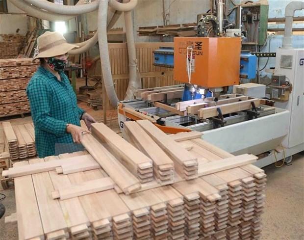 Aumentan exportaciones de productos forestales de Vietnam hinh anh 1