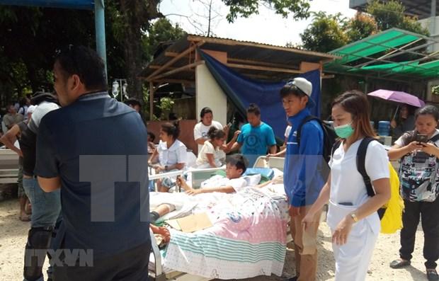 Al menos cinco muertos en sismo de magnitud 6,6 en Filipinas hinh anh 1