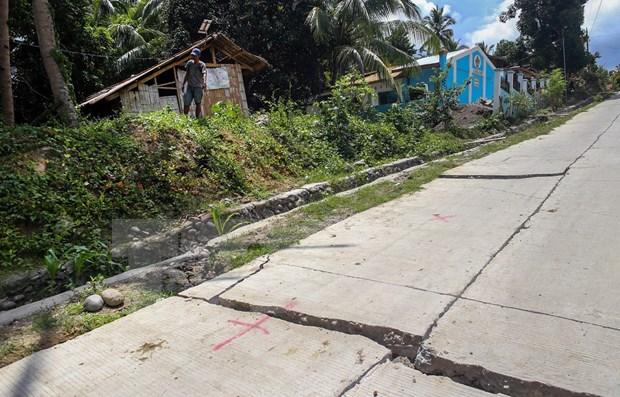 Sacude terremoto sur de Filipinas hinh anh 1
