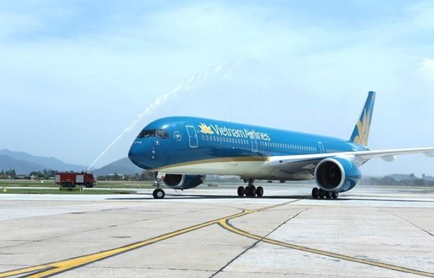 Inauguran nuevas rutas aereas directas entre ciudades de Vietnam y China hinh anh 1