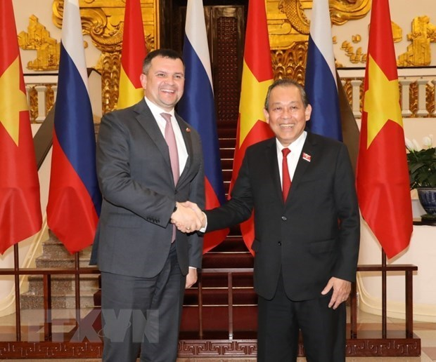 Afirma Vietnam apoyo a Rusia en fomento de su papel en Asia-Pacifico hinh anh 1