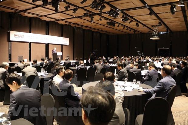 Efectuan en Corea del Sur Foro de Economia de Vietnam hinh anh 1
