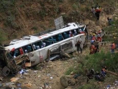 Mueren al menos 16 personas tras accidente de transito en Myanmar hinh anh 1