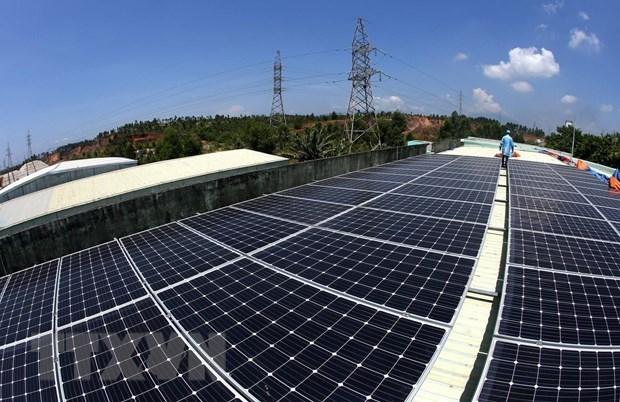 Firman en Vietnam acuerdo sobre credito frances para proyecto de energia solar hinh anh 1