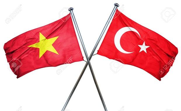 Felicitan dirigentes vietnamitas a Turquia por su Dia Nacional hinh anh 1