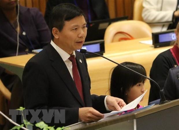 Intercambia Vietnam en la ONU experiencias sobre empoderamiento de mujeres hinh anh 1