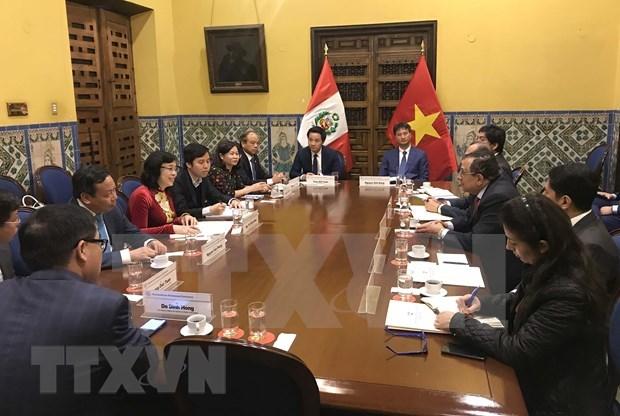 Promueve Hanoi una mayor cooperacion con Argentina y Peru hinh anh 2