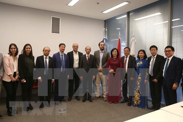 Promueve Hanoi una mayor cooperacion con Argentina y Peru hinh anh 1