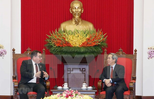Vietnam y Nueva Zelanda buscan elevar valor del intercambio comercial hinh anh 1