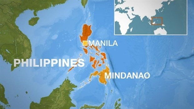 Sacude terremoto el sur de Filipinas por segunda vez en tres dias hinh anh 1