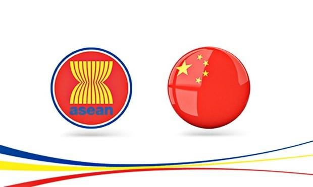 China y la ASEAN se proponen incrementar esfuerzos para garantizar la paz hinh anh 1