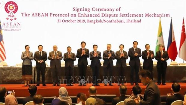 Resaltan el importante papel de la Comunidad Economica de la ASEAN a nivel mundial hinh anh 1