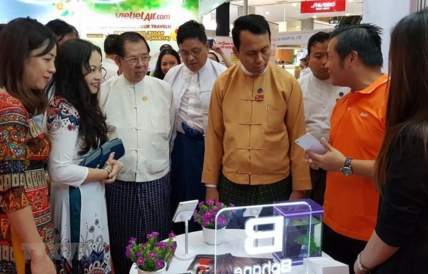 Realizan exposicion sobre marcas vietnamitas en Myanmar hinh anh 1
