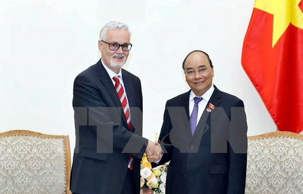 Vietnam considera importante el fortalecimiento de asociacion estrategica con Alemania hinh anh 1