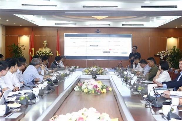 Realizan en Vietnam seminario sobre desarrollo de chips 5G y dispositivos de redes hinh anh 1