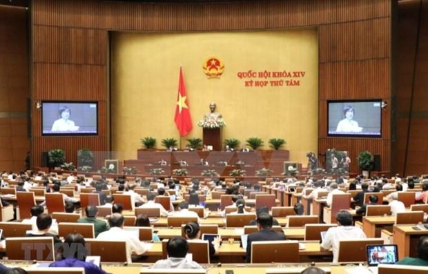 Proseguiran en Parlamento de Vietnam debates sobre asuntos socioeconomicos y presupuestarios hinh anh 1