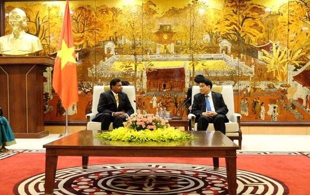 Dispuesta Hanoi a cooperar con Sri Lanka en multiples sectores hinh anh 1