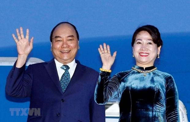 Parte premier de Vietnam rumbo a Tailandia para Cumbre de ASEAN hinh anh 1