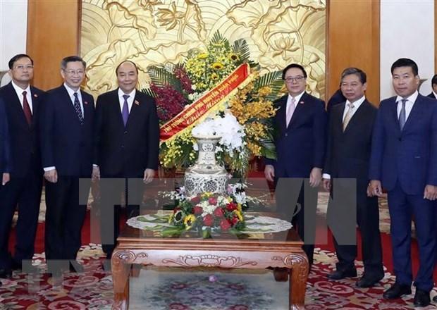 Resaltan gloriosa historia de Comision de Relaciones Exteriores del Partido Comunista de Vietnam hinh anh 1